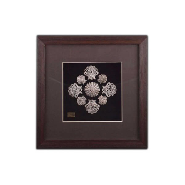 Silver Filigree Wall Art
